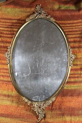 Antique Oval Picture Frame, Brass.