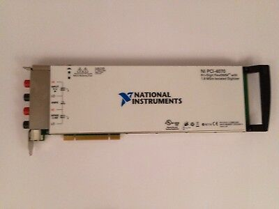... National Instruments PCI-4070 - 6.5 stelliges Digtalmultimeter & Digitizer