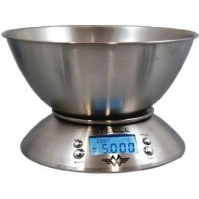 MY WEIGH STEELE 5 KG x 1 G WITH STEEL BOWL