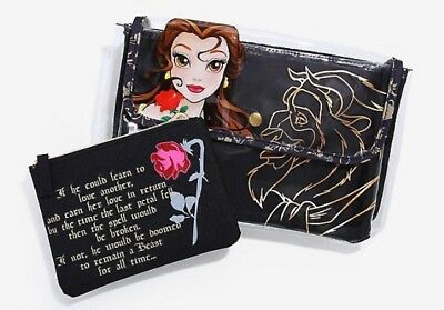 Disney Hot Topic Beauty And the Beast Make Up Bag