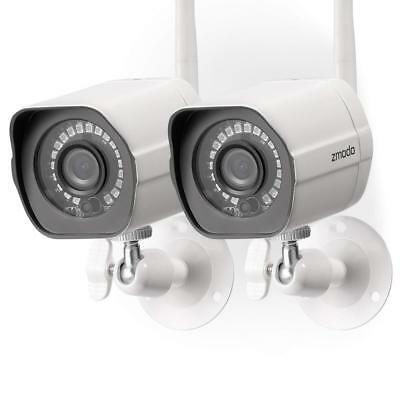 Zmodo Wireless Security Camera System (2 Pack) , Smart Home HD Indoor...