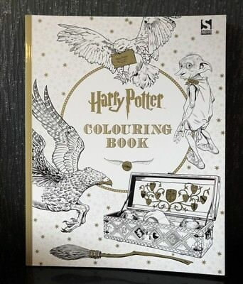 Harry Potter Colouring Book by Warner Brothers Brand New High Quality Pages