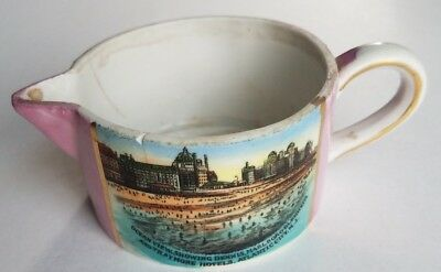 Antique Atlantic City New Jersey Souvenir Cup Early 1900s Hotels Made in Germany