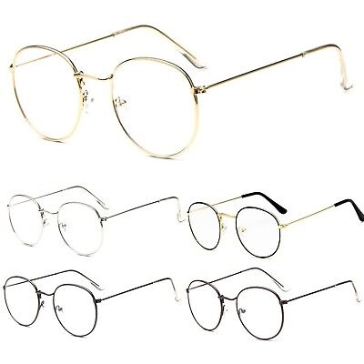 Clear Lens Metal Oval Lens Fashion Clear Lens Glasses