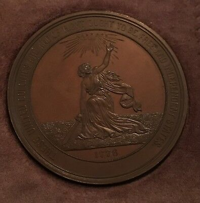 1876 Commemorative Medal of the Hundredth Anniversary of American Independence