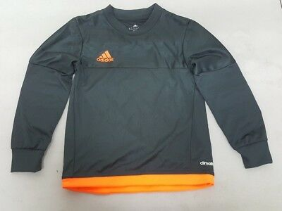 d9da43c84ef Adidas Youth Goalie Jersey Gray/Orange Size 2x-Small New Without Tags