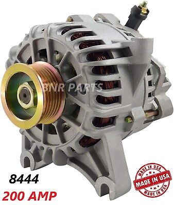 200 AMP 8444 Alternator Ford Expedition Lincoln Navigator High Output HD NEW USA