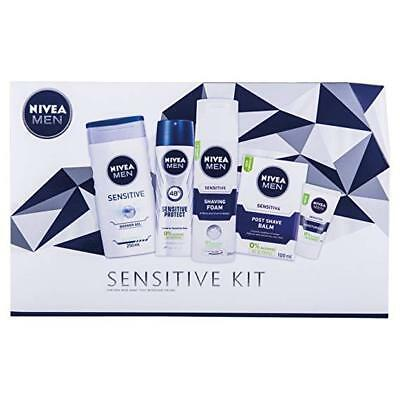 Nivea Men Gift Set, The Full Works Pack for Him with 5 Items