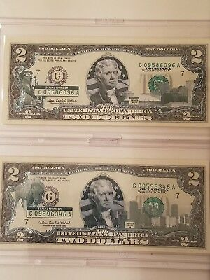 "12 note $2 Two Dollar Bills /""A-L/"" ALL 12 Districts Comple set GOOD condition W01"