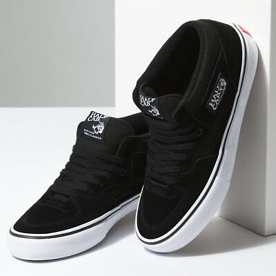 Vans Shoes Half Cab PRO Black White USA SIZE Steve Caballero Skateboard Sneakers