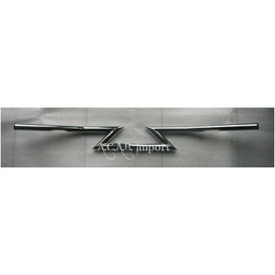 Guidon z-bar Custom Chrome pour Harley Davidson