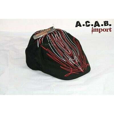 Casquette madison pinstriping old skool biker taille L à XL