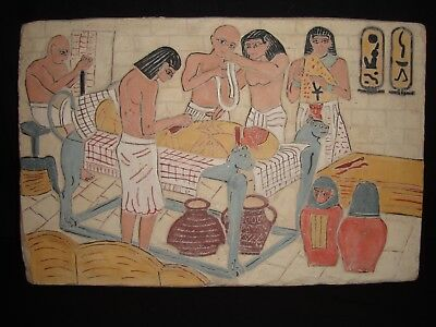 Rare Antique Ancient Egyptian Stela Book Of Dead Mummification Burial1790-1680Bc