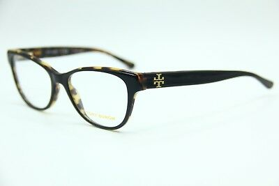 New Tory Burch Ty 2065 1601 Black Eyeglasses Authentic Frame Rx Ty2065 53-17