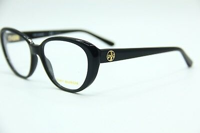 New Tory Burch Ty 2078 1377 Black Eyeglasses Authentic Frame Rx Ty2078 52-15