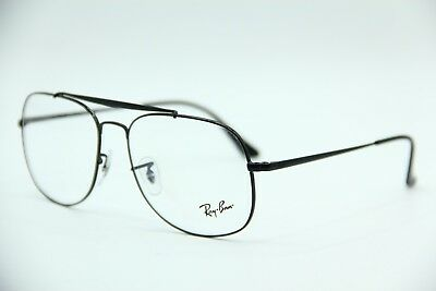 6c7820c1100 New Ray-Ban Rb 6389 2509 Black Eyeglasses Authentic Frames Rx Rb6389 57-16