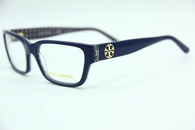 a1424d14cda7 New Tory Burch Ty 2074 1655 Blue Eyeglasses Authentic Frame Rx Ty2074 51-17