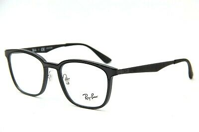 a7ee1ad6b73 New Ray-Ban Rb 7117 5196 Black Eyeglasses Authentic Frames Rx Rb7117 50-19