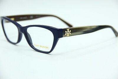 22a543bcdba1e New Tory Burch Ty 2053 1409 Blue Eyeglasses Authentic Frame Rx Ty2053 51-15