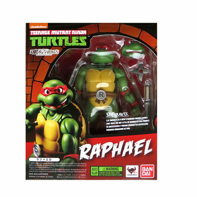 Bandai Teenage Mutant Ninja Turtles TMNT Raphael SH Figuarts Action Figures Toy