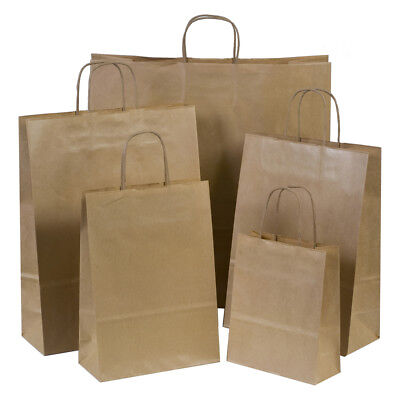 Luxury Coloured Paper Carrier Bags with Twisted Handles - Paper Shopping Bags