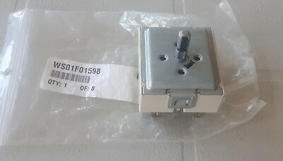 WS01F01598 For GE Range Surface Element Switch