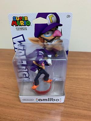 Brand New WALUIGI Amiibo - Nintendo Super Mario Party - US Version!