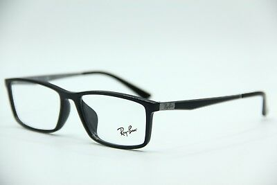 a1ceae8aae2ab New Ray-Ban Rb 7114 2000 Black Eyeglasses Authentic Frames Rx Rb7114 55-16
