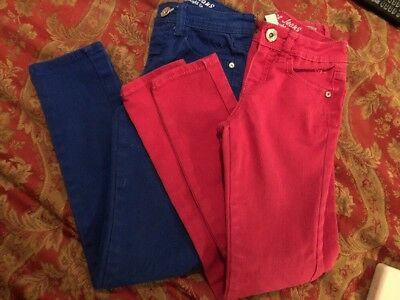 Lot Of Two Justice Jeans Size 10 S