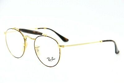 61b5a1f3233 New Ray-Ban Rb 3747V 2945 Gold Eyeglasses Authentic Rx Rb3747V 47-21 W