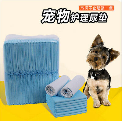 Puppy Pet Dog Indoor Cat Toilet Training Pads Absorbent S/M/L/XL 20/40/50/100