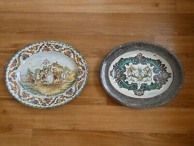 Vintage Daher Tin Meat Plate by Pritchard