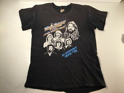 Vintage Bob Segert & The Silver Bullet Band in concert shirt 1978-79 Small