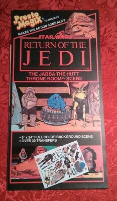 1983 presto magix transfers RETURN OF THE JEDI
