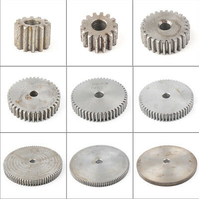 1pc 45# Steel 1 Mod Spur Gear 12T-150T Motor Pinion Thichness 10mm