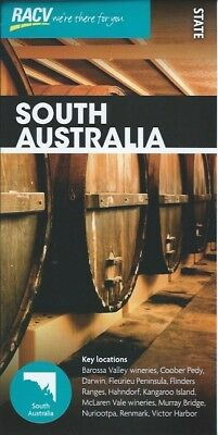 RACV South Australia State Tourist Map