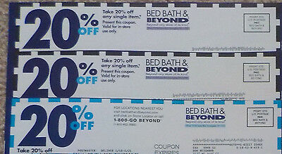 6 Bed Bath & Beyond Coupons - 20% off single item - Holiday $avings!
