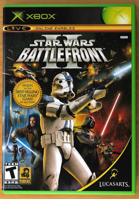 Star Wars Battlefront II -XBOX- Replacement Case *NO GAME*