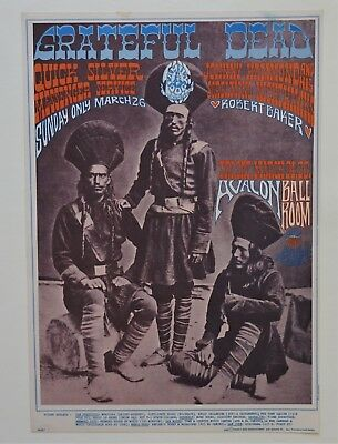 Family Dog Poster FD-54-RP-3 Avalon Ballroom Grateful Dead