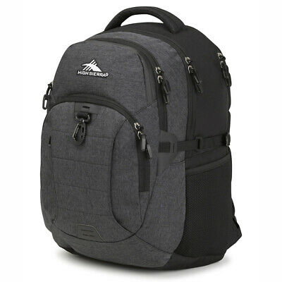 NEW High Sierra Jarvis Laptop Backpack Black