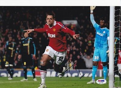 "CHICHARITO - HAND SIGNED / AUTOGRAPHED 8""x12"" COLOR PHOTO - TEAM MEXICO"