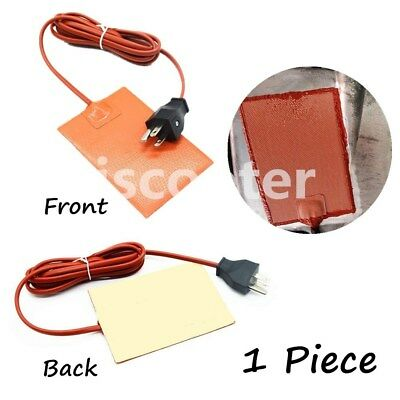 Car Engine Effective Heater Oil Pan Tank Heater Silicone Pad Heater With US Plug