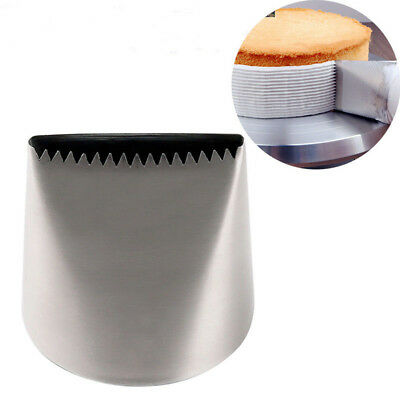 Extra Large Stainless Steel Sawtooth Icing Piping Nozzles Cream Pastry Tip BN