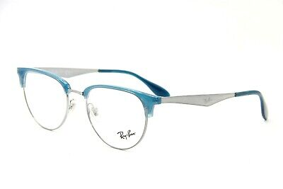 034988f6c84 New Ray-Ban Rb 6396 2934 Blue Eyeglasses Authentic Frames Rx Rb6396 51-19