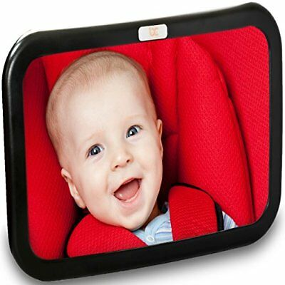Backseat Baby Car Mirror — Extra Large — Ideal for Rear-Facing Infant Car Seats