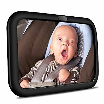 Baby Backseat Mirror, Neeryu Safety Shatterproof and Crash Tested Baby Car for