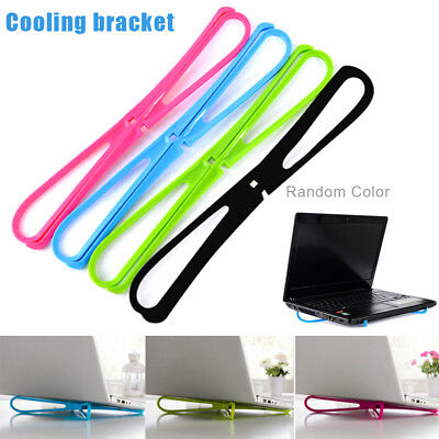 Portable Laptop Cooling Bracket Notebook Adjustable Cross Cooler Pad Stand for W