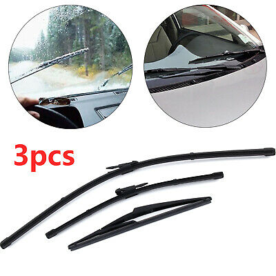 3x Vauxhall Corsa D/MK3 1.2 ACP Front/Rear Wiper Blades 'Trade Price' New XE6