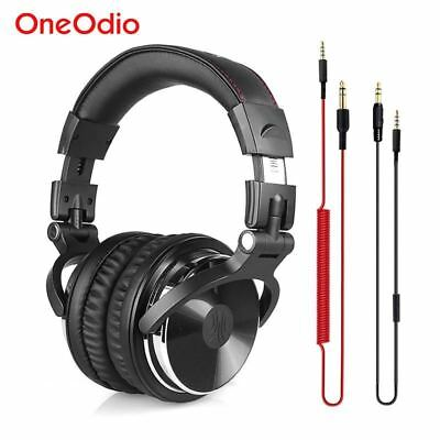 Professional DJ Headphones Studio Monitor DJ Headphones Wired Stereo Headset