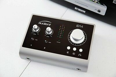 Audient ID14 USB-Powered audio MIDI Interface, almost brand new (Mac and PC)